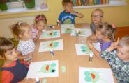 2014-09-05 - Żabki - Zielona żabka - praca plastyczna