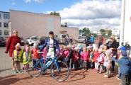 2015-09-29 - Mrówki, Motylki - Spotkanie z trenerem kolarstwa
