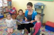 2015-11-19 - Motylki - Mama Kuby czyta bajkę