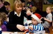2015-12-18 - Biedronki - Robimy ozdoby na wielką choinkę