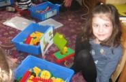 2016-03-29 - Mrówki - Budujemy żaglówkę z klocków Lego - Spotkanie z tatą Nataszy