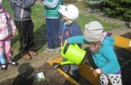 2016-04-12 - Motylki - Zakładamy ogródek warzywny
