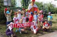 2016-06-30 - Wszystkie grupy - Przedszkolaki kibicują Polsce