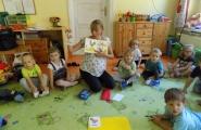 2016-09-07 - Żabki - Mama Maciusia prowadzi zajęcia logopedyczne