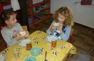 2016-10-06 - Sowy - Śniadanie z kiełkami wyhodowanymi przez dzieci