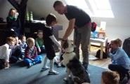 2016-11-24 -  Sowy, Mrówki - Spotkanie z trenerem psów