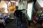 2017-09-13 - Sowy - Lekcja przy tablicy interaktywnej