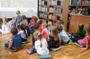 2017-09-14 - Żabki - Zajęcia w bibliotece