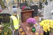 2017-11-06 - Sowy - Wizyta na cmentarzu