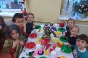 2017-12-19 - Biedronki - Wizyta świąteczna - Zajęcia ze starszymi kolegami