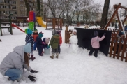2018-01-19 - Biedronki - Zabawy na śniegu