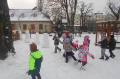 2018-01-19 - Sowy - Zabawy na śniegu
