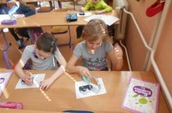 2018-04-12 - Sowy - Zajęcia w szkole - Czytamy z wykorzystaniem lusterka