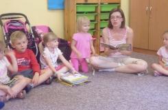 2018-07-06 - Biedronki  - Mama Martynki czyta bajkę