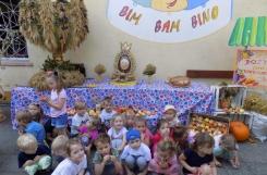2018-09-20 - Biedronki - Świętujemy Dzień Przedszkolaka na dożynkach
