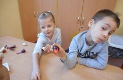 2018-10-10 - Mrówki - Prace z kasztanów, żołędzi i plasteliny