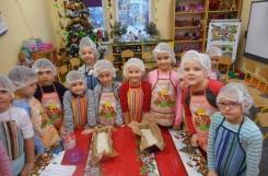 2018-11-12 - Motylki, Mrówki - Pieczemy chleb