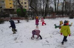2018-12-17 - Biedronki - Pierwszy śnieg