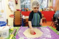 2019-02-20 - Biedronki - Ciasteczka guziki - warsztaty kulinarne