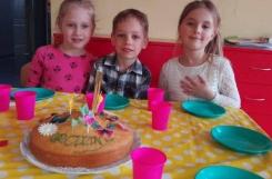 2019-03-26 - Motylki - Urodziny Gabrysi, Sary i Marcela