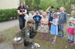 2019-04-25 - Mrówki, Sowy - Na czym polega praca żołnierki