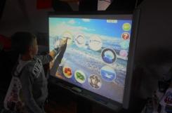 2019-09-16 - Sowy 1 - Morze czy góry - zajęcia przy tablicy interaktywnej