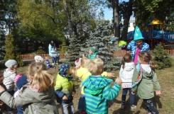 2019-09-19 - Mrówki, Motylki - Dzień Przedszkolaka - zabawa plenerowa