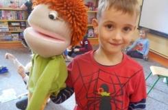 2019-10-15 - Mrówki - Zabawy z lalkami teatralnymi