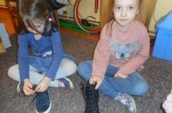 2019-11-13 - Motylki - Nauka wiązania butów