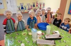 2019-11-26 - Kotki - Pieczemy chleb dla przedszkolaków