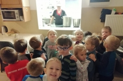 2019-12-02 - Kotki - Wycieczka do przedszkolnej kuchni