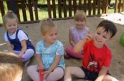 2020-07-14 - Kotki - W przedszkolnym ogrodzie