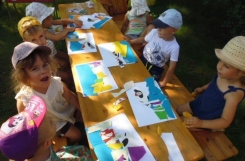 2020-08-10 - Żabki - zajęcia w letniej szkole sztuki