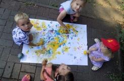 2020-08-14 - Biedronki, Żabki - Malujemy balonami