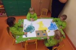 2020-09-11 - Żabki - Malujemy logo przedszkola
