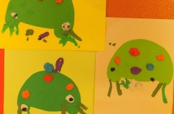 2020-09-15 - Żabki - Sztuka - zajęcia plastyczne