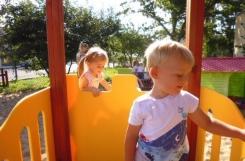 2020-09-16 - Biedronki - Na placu zabaw