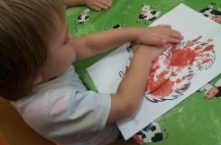 2020-10-13 - Żabki - Malujemy dłońmi