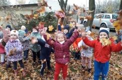 2020-11-13 - Biedronki - Jesienna kąpiel w liściach