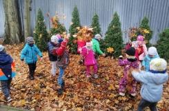 2020-11-16 - Motylki - Jesienne zabawy w ogrodzie przedszkolnym