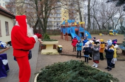 2020-12-17 - Motylki - Mikołaj w Przedszkolu