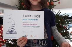 2021-01 - Sowy - Praca Oskara, za którą zdobył I miejsce w ogólnopolskim konkursie