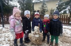 2021-01-04 - Żabki - Pierwszy śnieg w przedszkolu