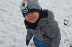 2021-01-07 - Biedronki - Zabawy na śniegu
