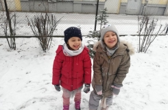 2021-01-15 - Mrówki - Zabawa na śniegu
