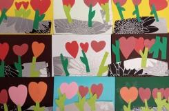 2021-02-03 - Biedronki - Walentynki plastyczne