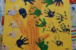 2021-02-04 - Motylki - Stemplujemy dłonią