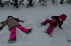 2021-02-09 - Sowy - Zabawy na śniegu