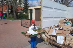 """2021-04-21 - Sowy - Pakujemy makulaturę  - """"Mali strażnicy klimatu"""""""