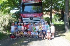 2021-06-11 - Mrówki - Zwiedzamy wielką ciężarówkę